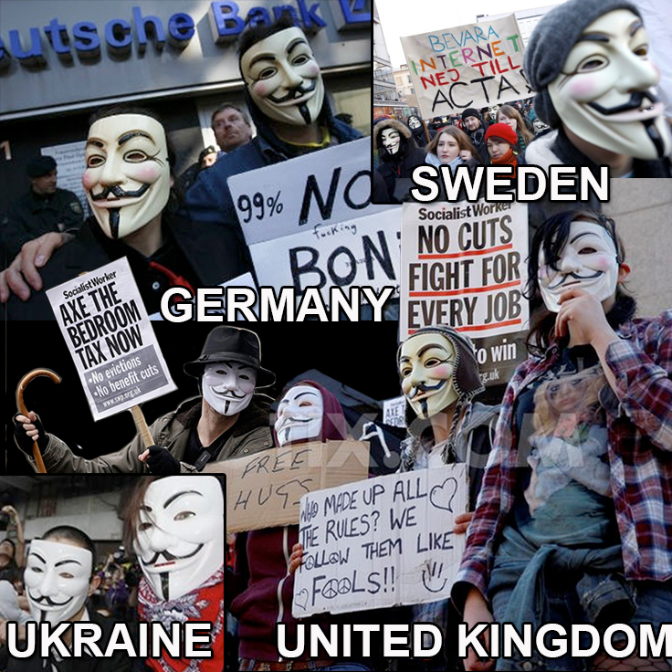 """Year 2012 """"Anonymous"""""""