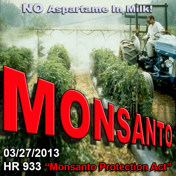 "Year 2012 ""HR 933 Monsanto Protection Act"""