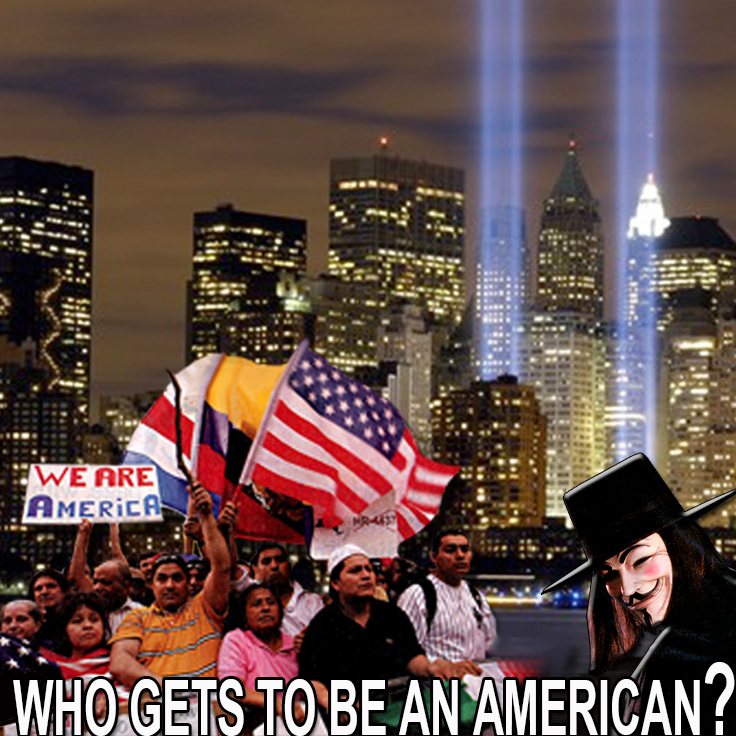 "Year 2006 ""Who Gets To Be An American"""