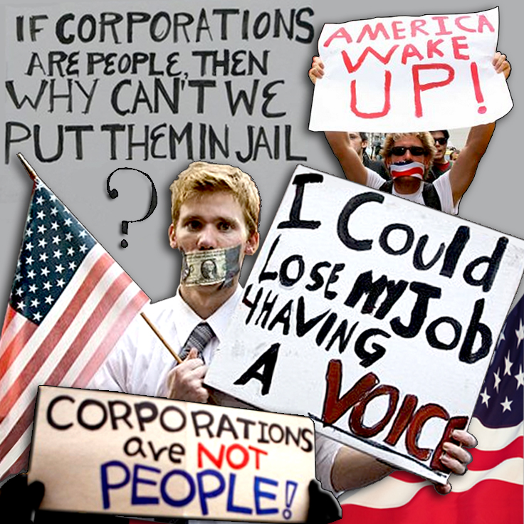 "Year 2011 ""People VS Corporations"""